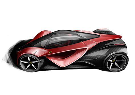 ferrari  superfast car body design