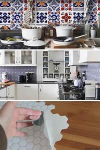 Crédence Carreaux De Ciment Adhesif : les 518 meilleures images du tableau carrelage adh sif sur ~ Premium-room.com Idées de Décoration