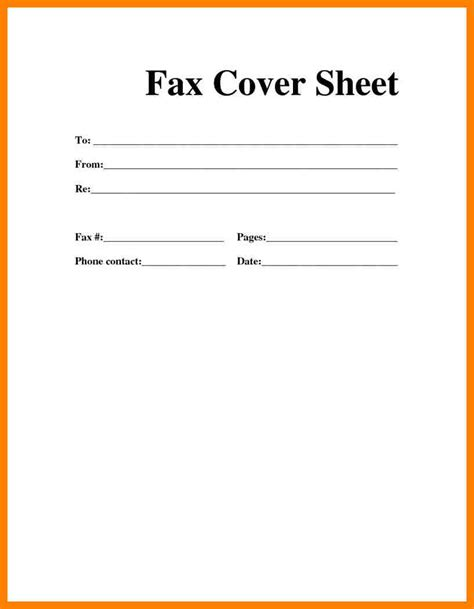 Resume Cover Sheet Template by Fax Cover Sheet Pdf Fillable Sitezen Co
