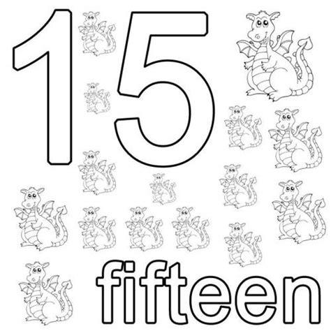 englisch für kindern kostenlos kostenlose malvorlage englisch lernen fifteen zum ausmalen