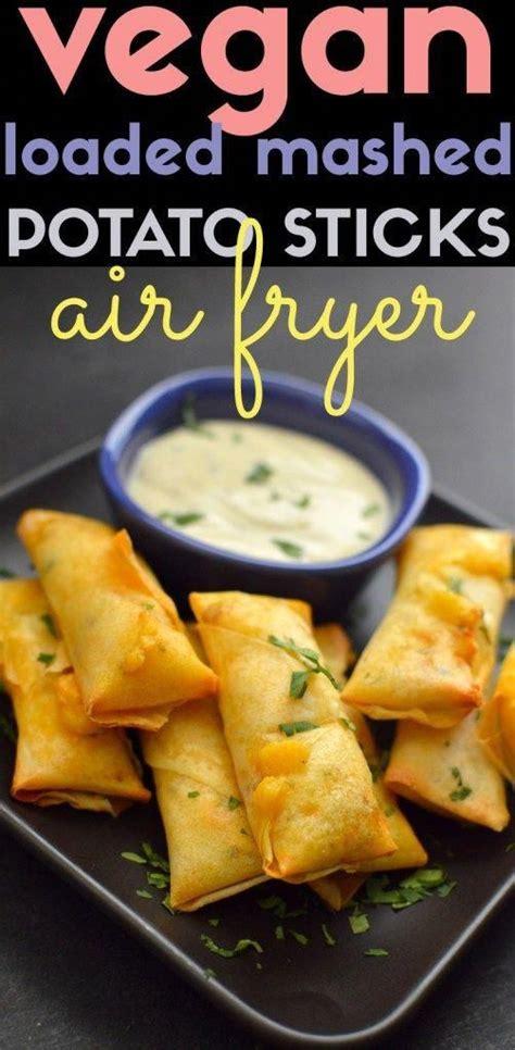 recipes fryer air vegan onion snacks
