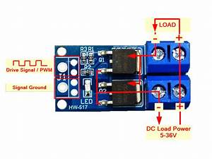 High-power Dual Mosfet Switch Module