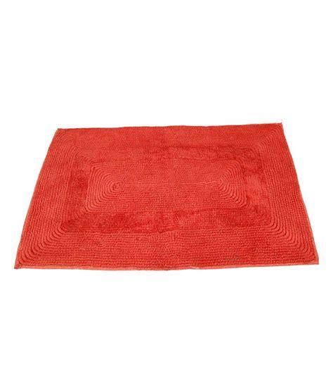 Cotton Door Mat by Ritika Carpets Orange Plain Cotton Door Mat Buy Ritika