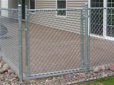 chain link fence panels types specifications  applications