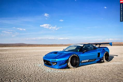 1992 Acura Nsx Rocket Bunny Cars Coupe Modified Blue
