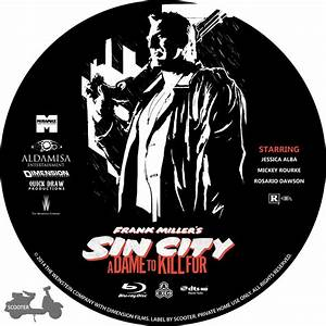 Sin City: A Dame To Kill For - Custom DVD Labels - Sin ...