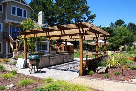 Wooden Kitchen Ideas - 40 modern pergola designs and outdoor kitchen ideas