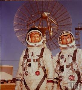 Michael Collins and John Young; Gemini 10 - LIFE magazine ...