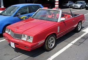 Chrysler Le Baron Cabriolet : chrysler lebaron wikipedia ~ Medecine-chirurgie-esthetiques.com Avis de Voitures