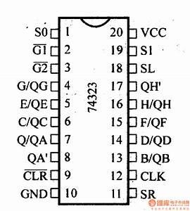 74 Series Digital Circuit Of 74ls323 74s323 8