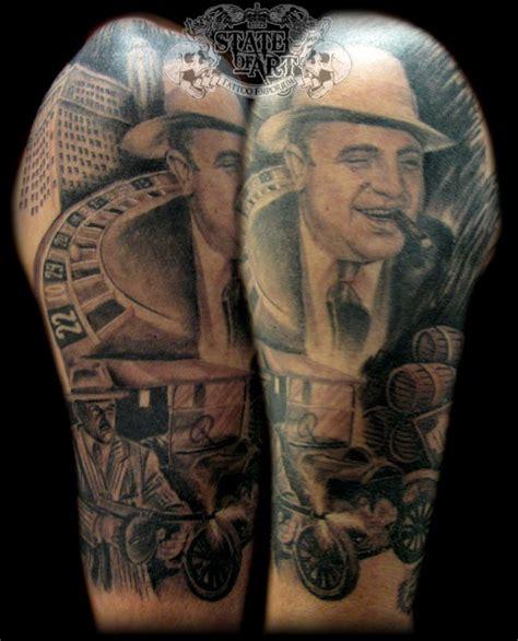 gangster  sleeve  state  art tattoo  deviantart