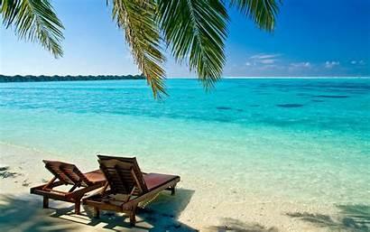 Desktop Beach Tropical Backgrounds Wallpapertag