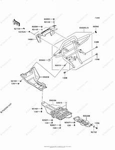 Kawasaki Atv 2008 Oem Parts Diagram For Guard S  F6f