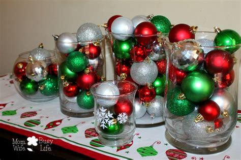 Christmas Ornament Decorative Centerpieces
