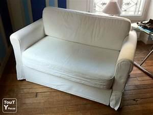 Lit Canapé Ikea : banquette convertible ikea ~ Teatrodelosmanantiales.com Idées de Décoration