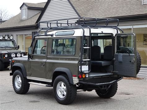 1997 land rover defender 1997 land rover defender 90 limited edition copley motorcars