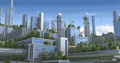 Office Future Buildings 2050