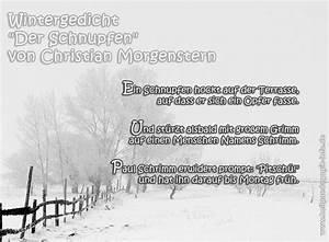 Gedicht Der Lattenzaun : wintergedicht der schnupfen ~ Lizthompson.info Haus und Dekorationen