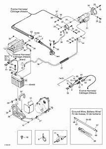 Ski Doo 2002 Legend  500f  Battery And Starter