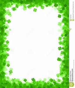 St Patricks Day Background Border Stock Image Image