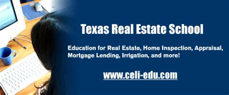 leading texas real estate school offers home study courses