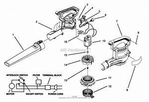 Toro 51557  Super Blower Vac  1995  Sn 59000001