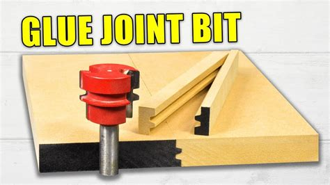 reversible glue joint router bits   setup wood