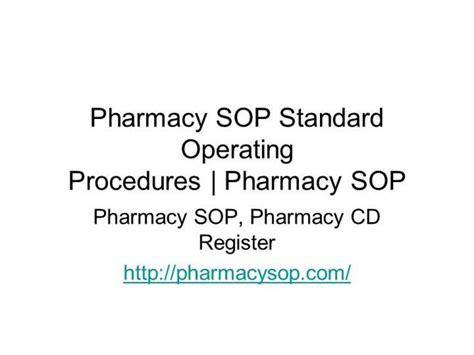 Pharmacy standard operating procedures template adorable pharmacy pharmacy standard operating procedures template costumepartyrun maxwellsz