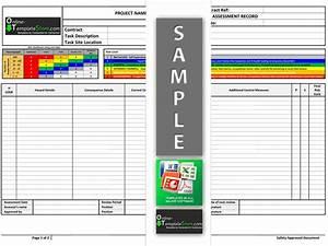 osha risk assessment template - construction safety construction safety handbook template