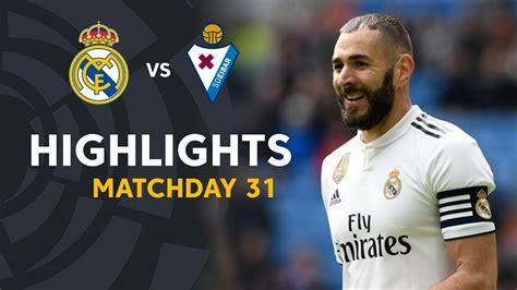 Highlights Real Madrid vs SD Eibar (2-1) | Soccer News Updates