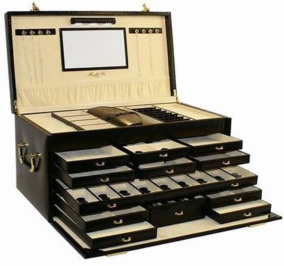 Jewelry Box Boxes Leather Organizers Roll Storage