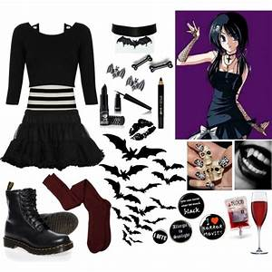 Raven Madison - Polyvore | We Heart It | outfit Polyvore and vampire kisses