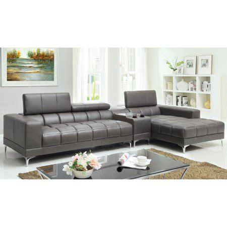 furniture  america riverton  piece sectional sofa