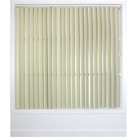 Pvc Vertical Blinds by Smart Home Products 240 X 210cm Alabaster Pvc Vertical Blind