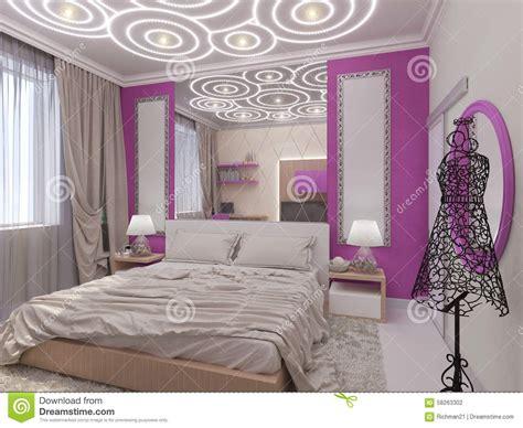 chambre à coucher fille illustration 3d d 39 une chambre à coucher pour la