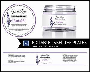 Label template id11 aiwsolutions for 8 oz jar labels