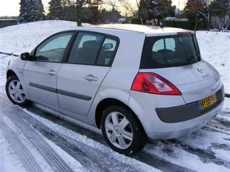 renault megane 2005 hatchback used renault megane 2005 petrol 1 6 vvt dynamique 5dr