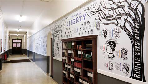 school wall graphics british values wall toop studio