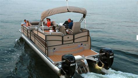 rocket fast pontoon boats boatscom