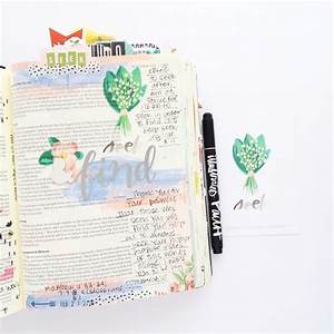 print and pray bible journaling process video red letter With red letter journaling bible