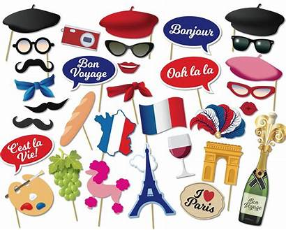 France Photobooth Props Booth Paris Printable French