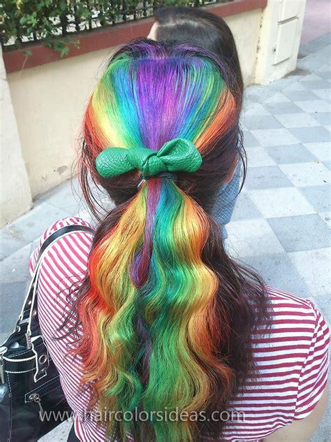 Pin Rainbow Hair On Pinterest