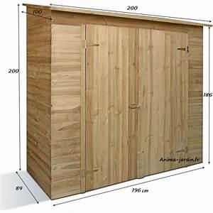 Remise En Bois Pour Jardin : remise outils 2 portes savona armoire de rangement ~ Premium-room.com Idées de Décoration