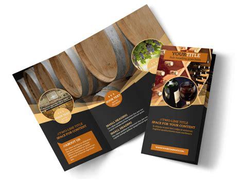 wine  brochure template mycreativeshop