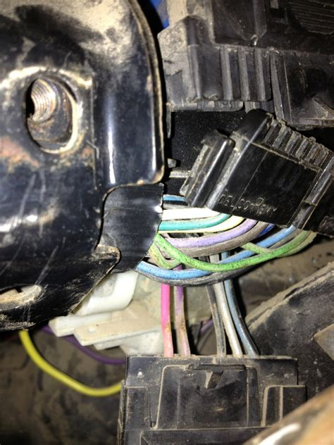 trouble changing turn signal switch gm square