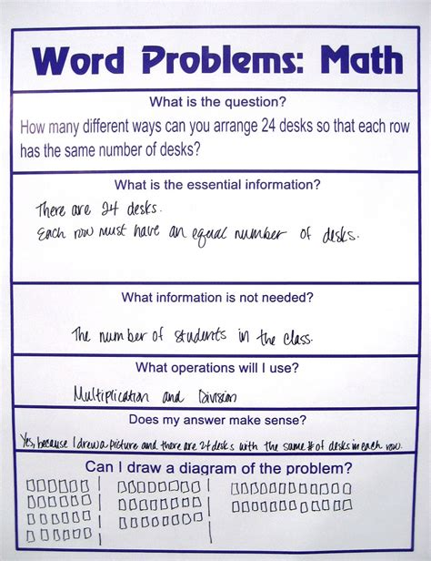 picture words problems activity shelter