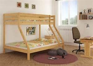 Doppel Hochbett Für Erwachsene : doppel etagenbett f r drei personen 140x200 u 90x200 f r erwachsene ebay ~ Bigdaddyawards.com Haus und Dekorationen