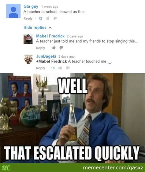 Boy That Escalated Quickly Meme - boy that escalated quickly by qasxz meme center