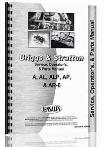 Briggs And Stratton A  Al  Alp  Ap  Ar
