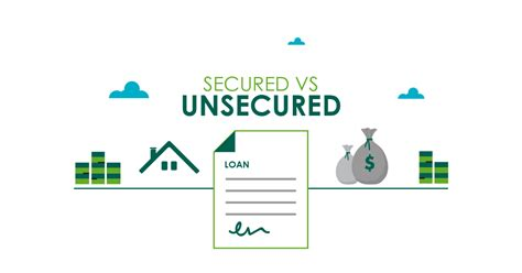 Unsecured Loans Vs Secured Loans